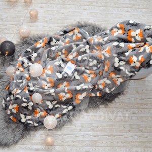 Babapléd (süni, róka, erdő élővilága)